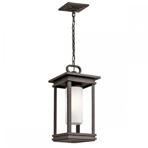 Kichler KL/SOUTH HOPE8/S South Hope Small Chain Lantern Rubbed Bronze